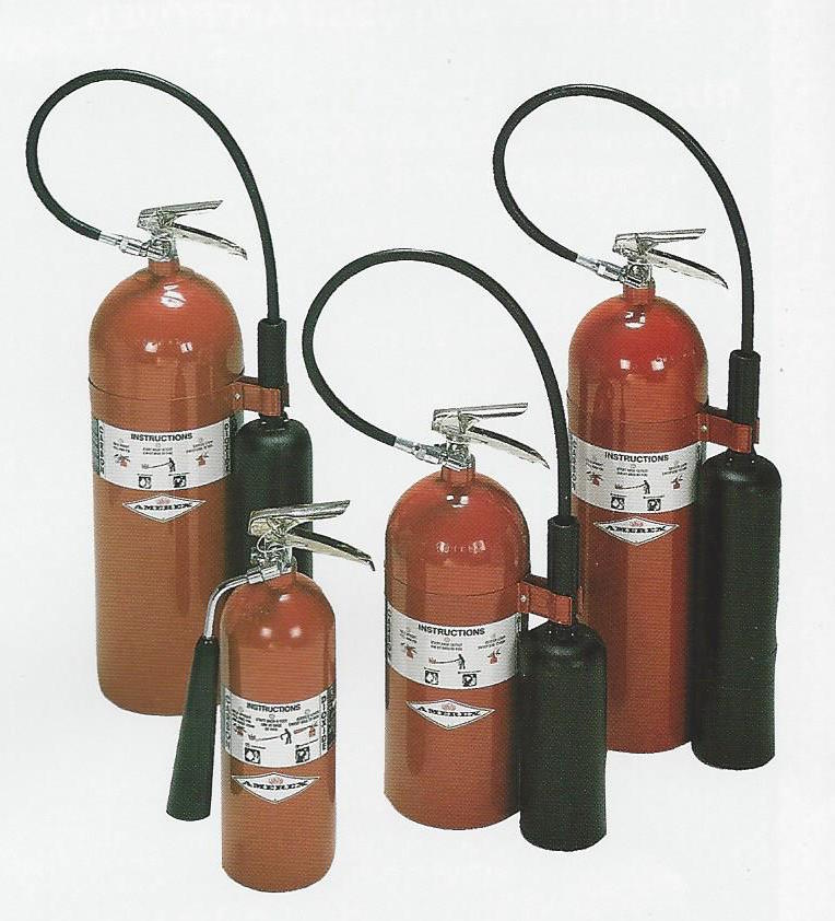 Carbon Dioxide Fire Extinguishers in Garland Maine and Downeast Area