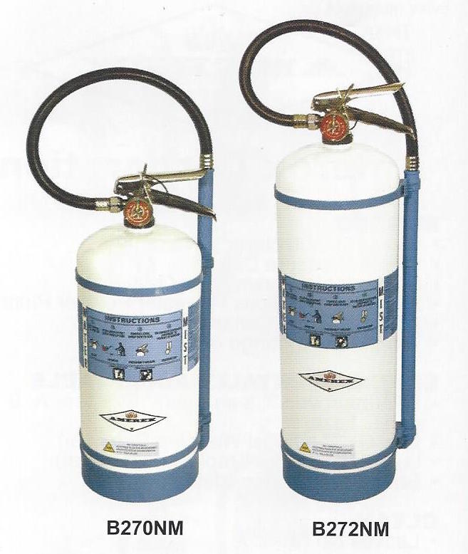 Deionized Water Mist Fire Extinguishers in Garland Maine and the Downeast Area