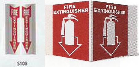 fire extinguisher sign Garland, ME
